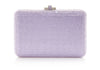 Slim Slide Violet Clutch