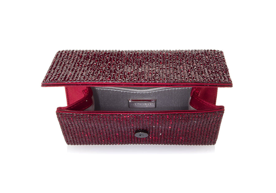 Fizzy Red Crystal Clutch