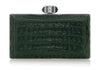 Crocodile Emerald Clutch