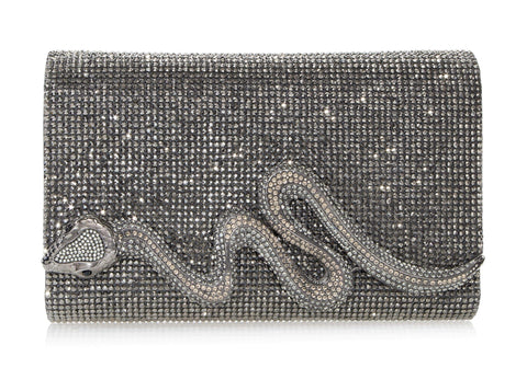 Serpent Crystal Clutch