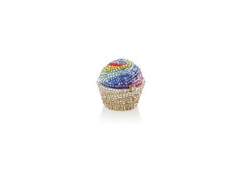 Cupcake Pillbox Rainbow