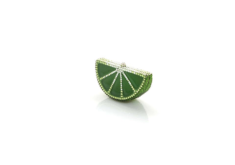 Slice Pillbox Lime