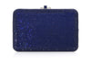 Slim Slide Blue Clutch