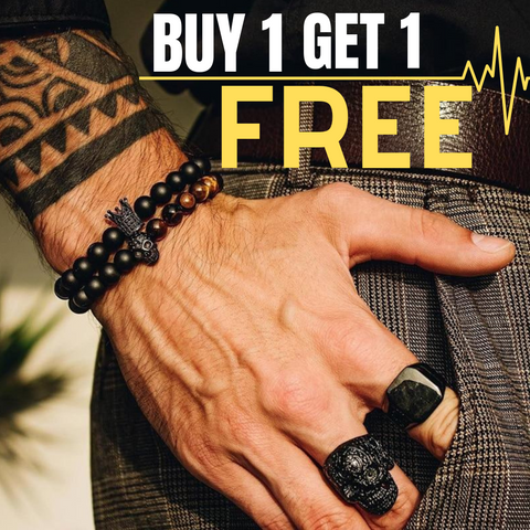 BUY 1 GET 1 FREE CROWN & SKULL