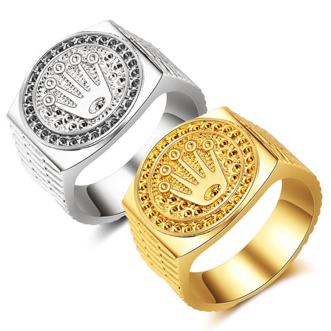 THE KING 14K GOLD / SILVER RINGS