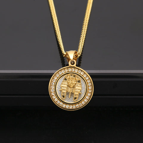 PHARAOH'S DIAMONDS 10K GOLD CHAIN / NECKLACE