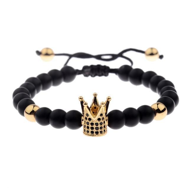 Black stone Royalty bracelet