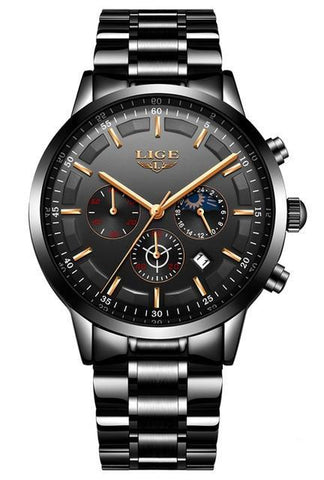 LIGE Exotic Men Watch