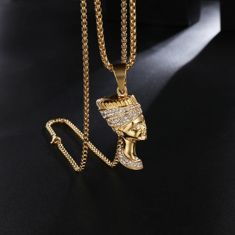 RULER OF EGYPT 18K GOLD CHAIN / NECKLACE