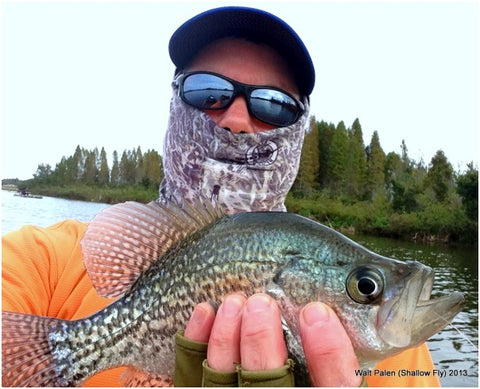 Shallowfly Walt with a spec (crappie)