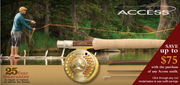 Free Reel Deal for Accress F;ly Rods