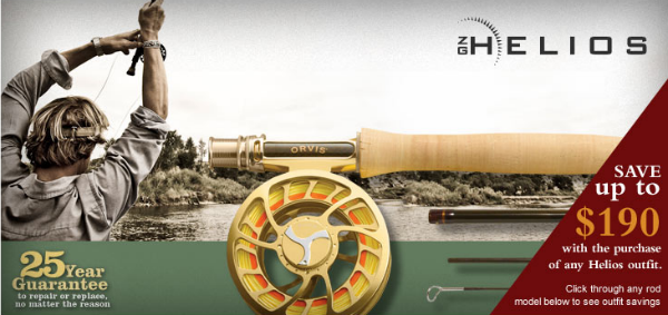 Free Reel Deal with Orvis Helios Fly Rod