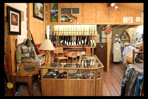Oglesby Gun Room at Andy Thornal Company