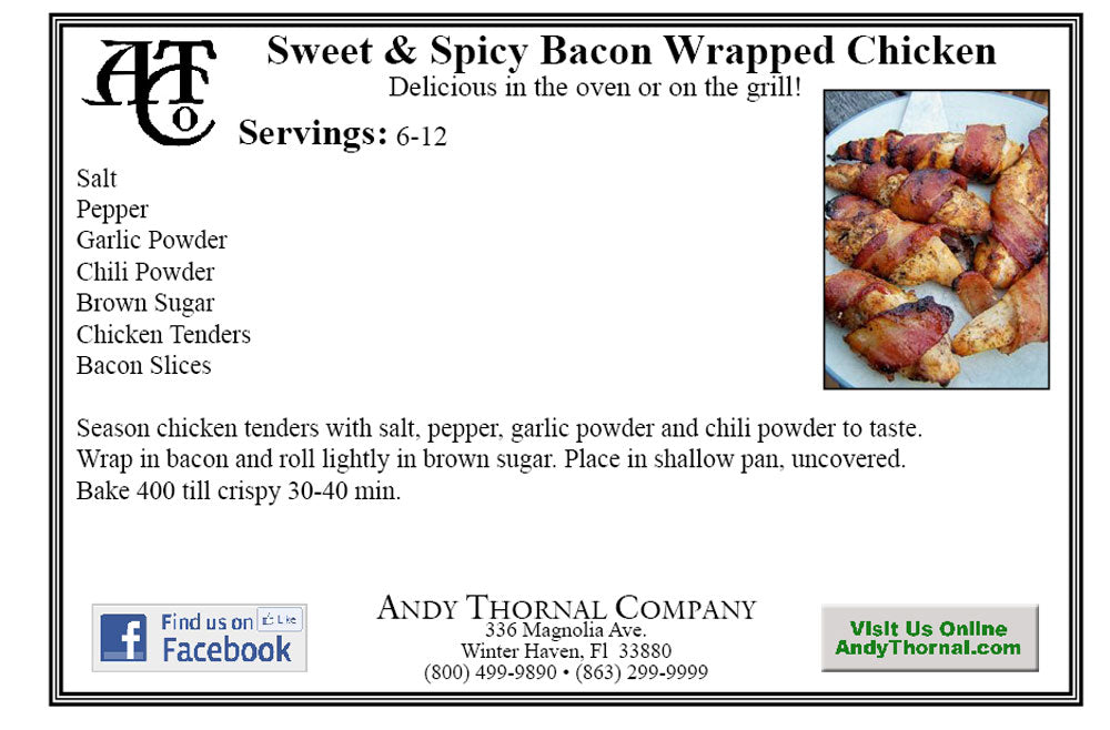 Favorite recipes andy thornal company click here for printable pdf forumfinder