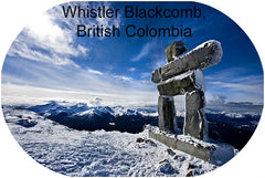 Snow Skiing Whistler Blackcomb, British Columbia