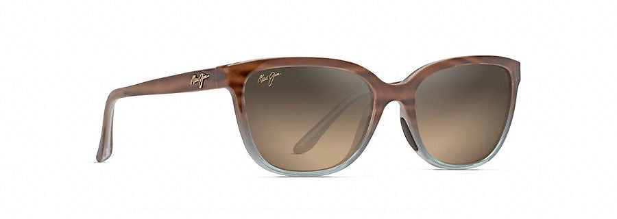 3746fee5c6a6e Maui Jim Honi Sandstone with Blue Polarized Sunglasses HCL Bronze  HS758-22B