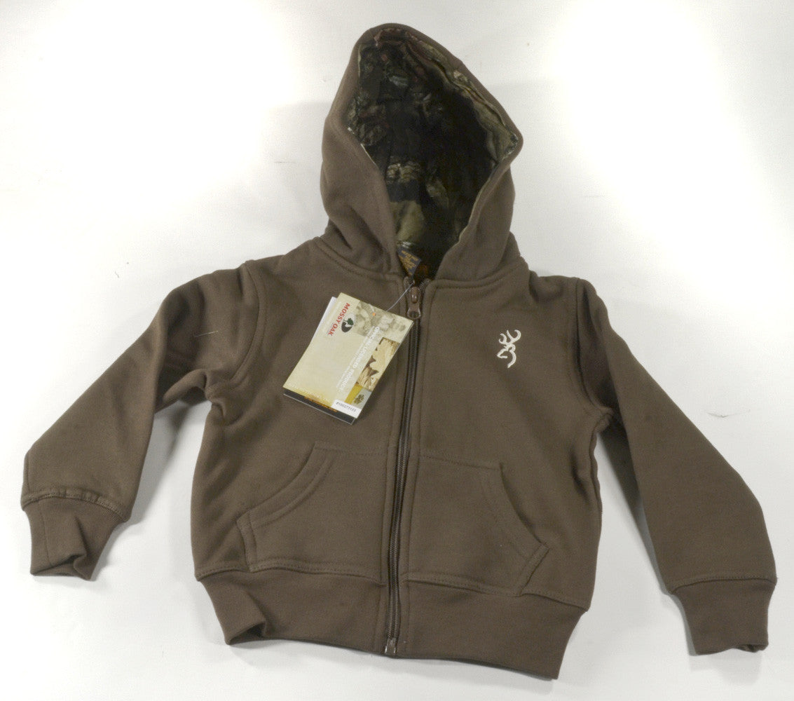 a3beece4b24 Browning Toddler Buckmark Camo Sweatshirt Chestnut-Closeout - Andy ...