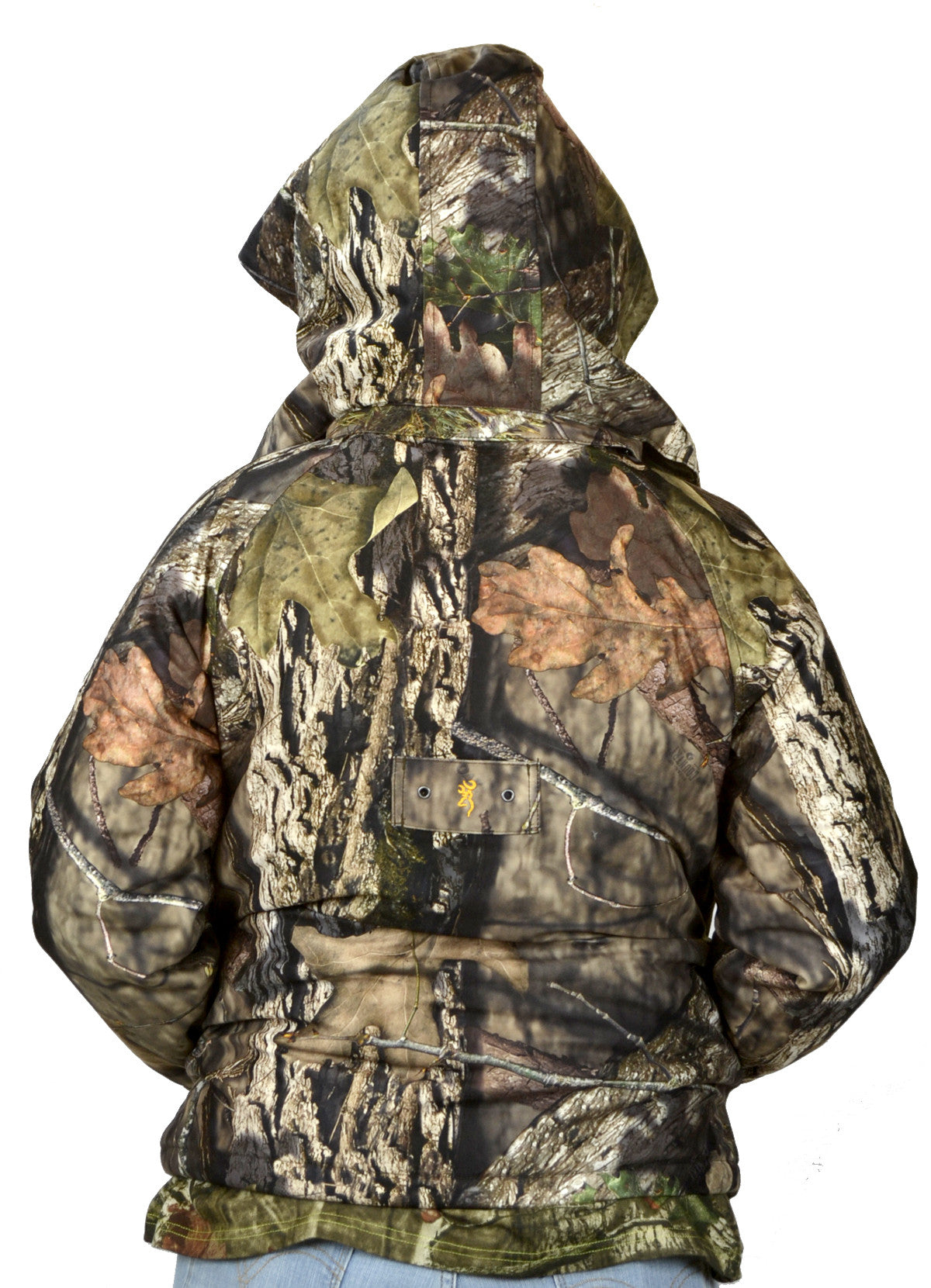 28b5a7eb4adea Browning Junior Wasatch Insulated Rain Parka/Mossy Oak Breakup Country -  Andy Thornal Company