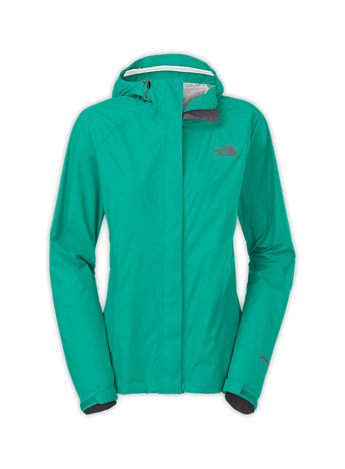79a3517212ec The North Face Womens Venture Jacket Jaiden Green - Andy Thornal Company