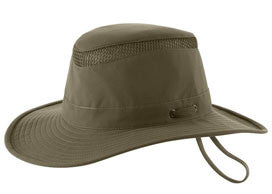 Tilley Hats - The LTM6 AIRFLO Nylamtium Hat Olive - Andy Thornal Company 99bdddc47824