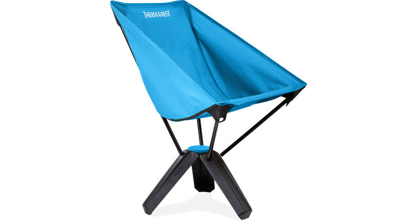 Thermarest Easy Chair Thermarest Treo Chair/Slate/Sapphire - Andy Thornal Company