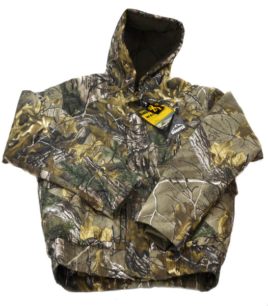 253586a1ce759 Browning Men's Wasatch Hooded Insulated Jacket - Realtree AP Xtra