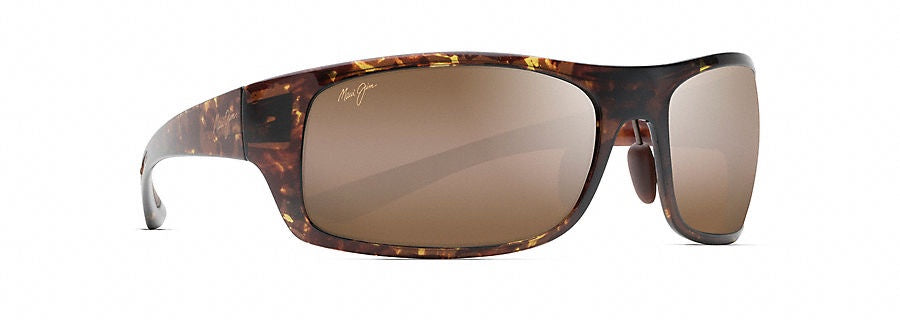 6073bc4a2c8cd Maui Jim Big Wave Olive Tortoise Polarized Sunglasses HCL Bronze  H440-15T