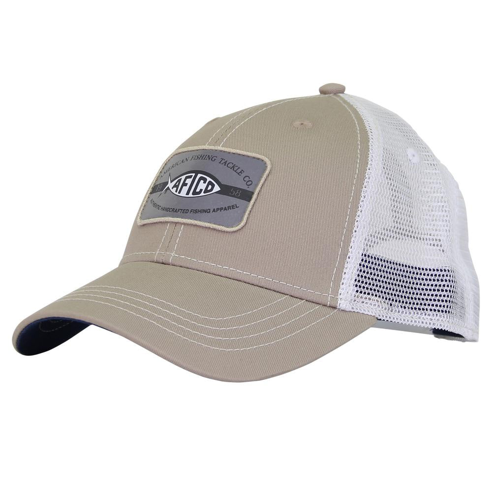 5440363d390169 AFTCO Patch Trucker Hat/Khaki - Andy Thornal Company