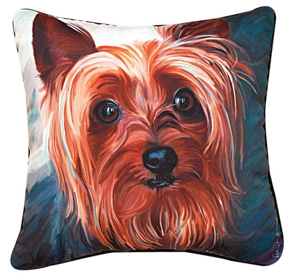 447a3c5b199 Manual Woodworkers and Weavers Yorkie Style Yorkie Pillow