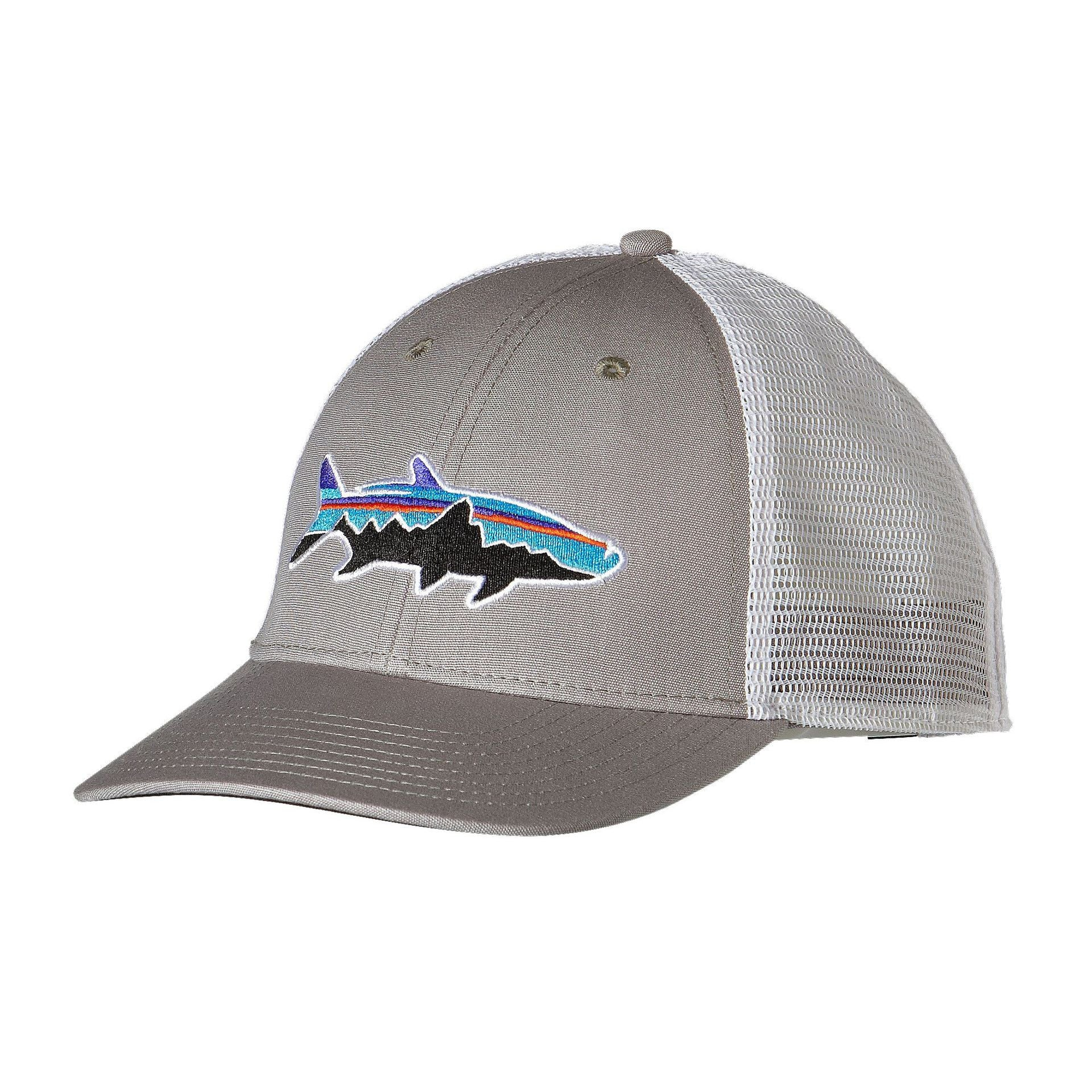 Patagonia Fitz Roy Tarpon LoPro Trucker Hat Drifter Grey - Andy Thornal  Company a0577bb5b90