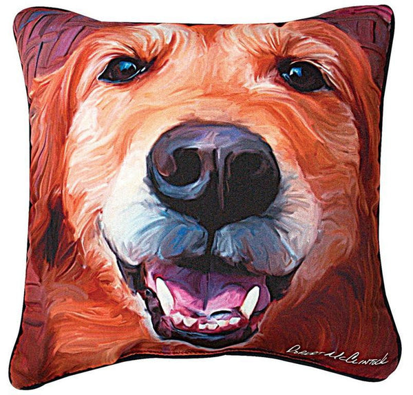 b075058460c Manual Woodworkers and Weavers Nutmeg Golden Retriever Pillow