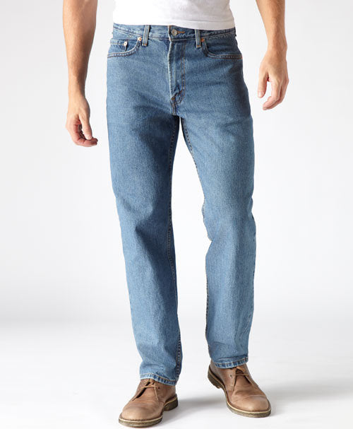 6db73fd507b Levis Men s 550 Relaxed Fit Stonewash Jeans - Andy Thornal Company