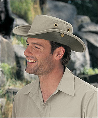 Tilley Hats - The T3 Cotton Duck Hat Khaki-Olive - Andy Thornal Company dc5562fb57a