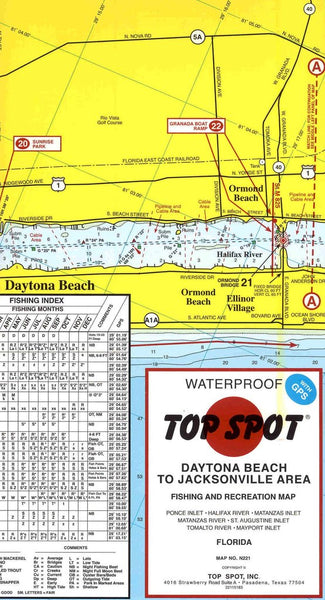 Top spot daytona beach to jacksonville area fishing and for Matanzas inlet fishing