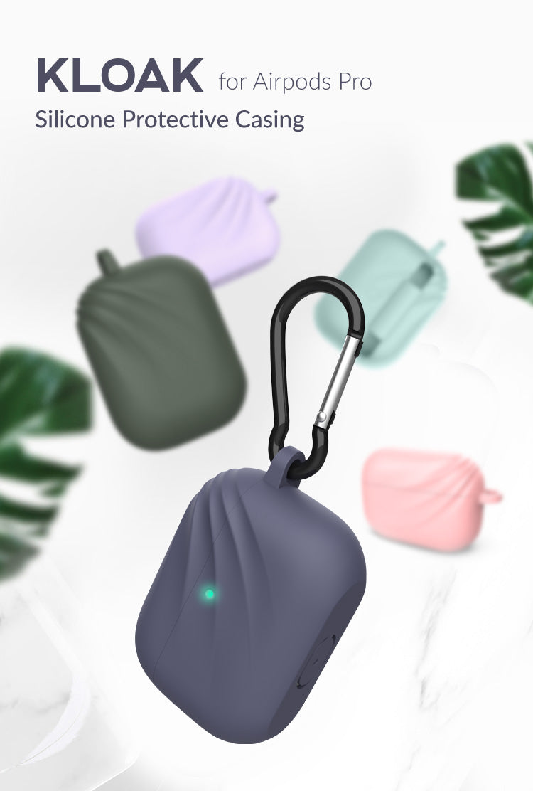 Kloak - AirPods Pro Silicone Case with Carabiner