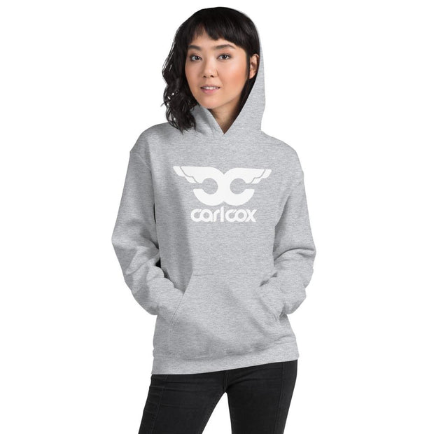 CC White Wings Adult's Hooded Sweatshirt-Carl Cox Online Store