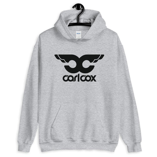 CC Black Wings Adult's Hooded Sweatshirt-Carl Cox Online Store