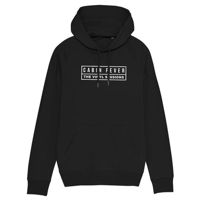 Cabin Fever White Logo Adult's Hooded Sweatshirt-Carl Cox Online Store