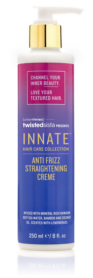 Anti Frizz Straightening Crème - INNATE Haircare Products for Textured Hair