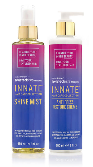 Shine Mist & Anti Frizz Texture Crème - INNATE Haircare Products for Textured Hair