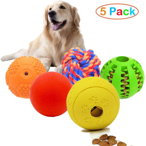 large breed dog toy 5 pack