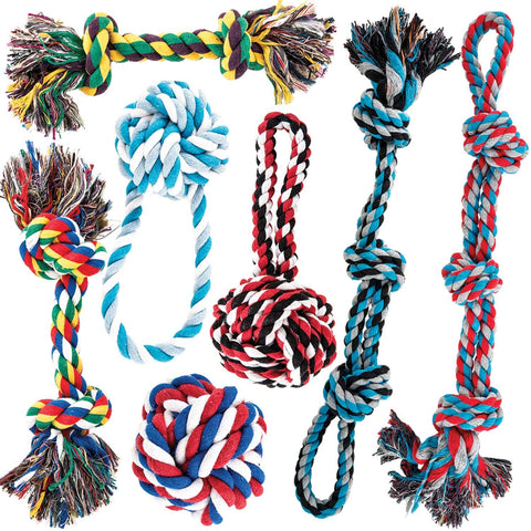 large breed dog toy rope