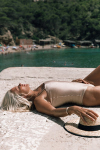"FANCE ONE-PIECE ""GOLDEN BEIGE"" - STHLMSWIMWEAR"