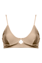 "Load image into Gallery viewer, ELLA TOP ""GOLDEN BEIGE"" - STHLMSWIMWEAR"