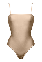 "Load image into Gallery viewer, FANCE ONE-PIECE ""GOLDEN BEIGE"" - STHLMSWIMWEAR"