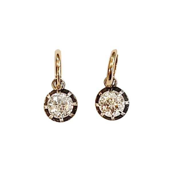 Jubilee Moissanite Huggie Earrings