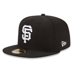 New Era 59FIFTY MLB San Francisco Giants Basic Fitted Hat Black/White