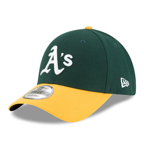 New Era MLB Oakland Athletics The League 9FORTY Adjustable Hat Green/Yellow