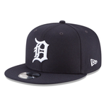 New Era 9FIFTY MLB Detroit Tigers Team Color Basic 9FIFTY Snapback Hat Navy