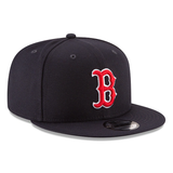 New Era 9FIFTY MLB Boston Red Sox Team Color Basic Snapback Hat Navy